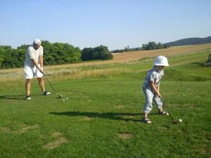 Moji golfisti golfujú